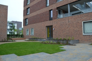 Binnentuin in Arnhem