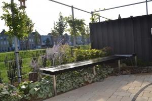 Kleine achtertuin in Cuijk